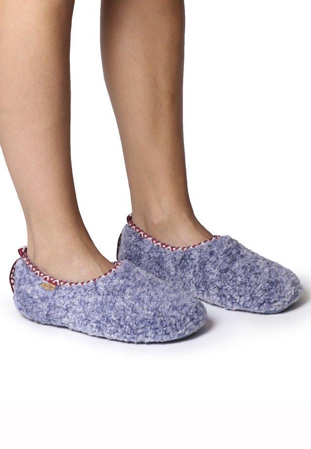 MARTA-SH - Slippers - blau