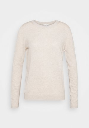 Jumper - light warm beige melange