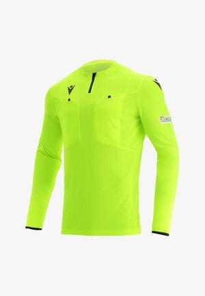 Sports shirt - gelbschwarz