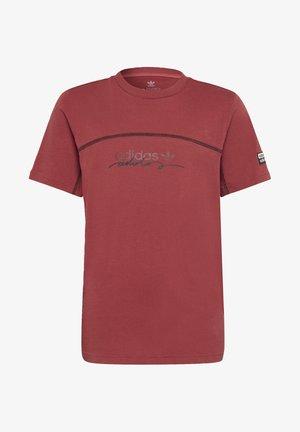 R.Y.V. T-SHIRT - Print T-shirt - red