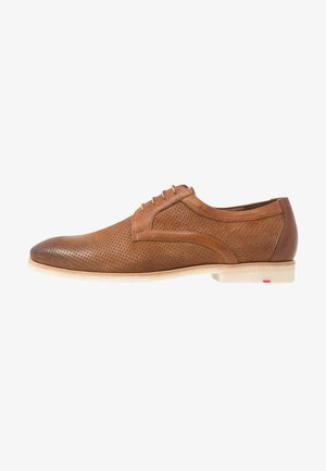 STEFANO - Zapatos de vestir - cigar