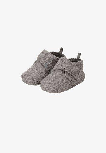 BABY WINTER-KRABBELSCHUH - First shoes - dunkelgrau