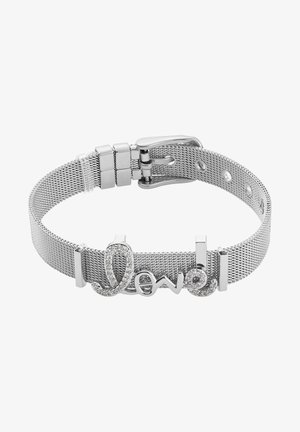 ARMBAND LOVE - Bracelet - silberfarben poliert