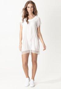 Indiska - MARSHA - Day dress - white - 0