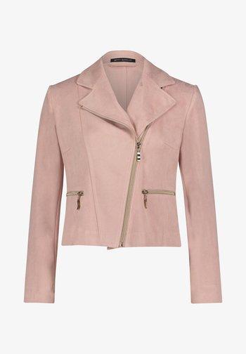 Faux leather jacket - altrosa