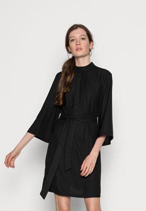 VILIANO SLEEVE DRESS - Juhlamekko - black
