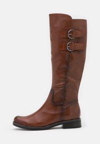 Caprice - Vysoká obuv - cognac - 1