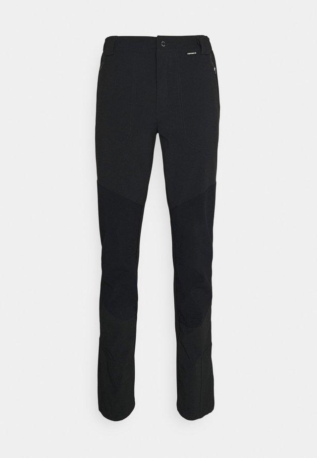 DORR - Kalhoty - anthracite