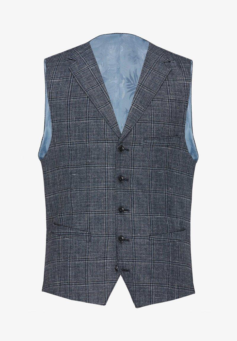Carl Gross - Waistcoat - blue