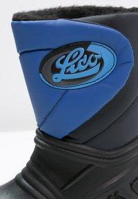 LICO - TERRA - Vysoká obuv - schwarz/blau - 5