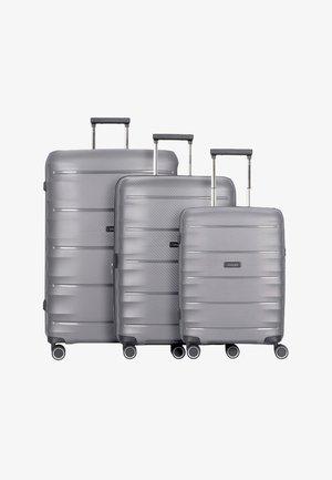 SET - Luggage set - anthracite
