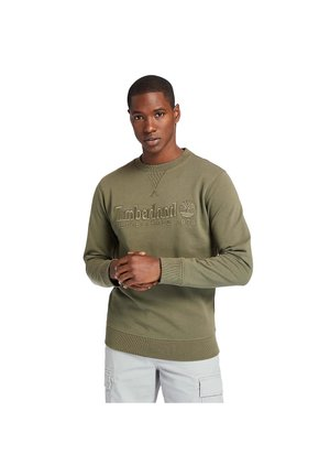 OUTDOOR HERITAGE ESTABLISHED 1973 CREW - Sweatshirt - khaki