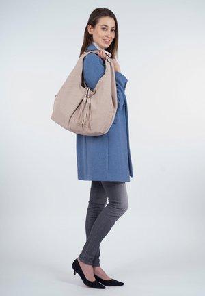 MELLY - Handväska - beige
