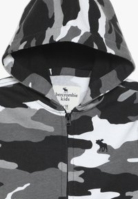 Abercrombie & Fitch - CORE  - Zip-up hoodie - black /white - 4