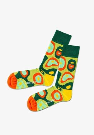 PREMIUM QUALITÄT - Calze - green / yellow / orange