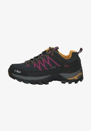RIGEL - Hiking shoes - schwarz/orange