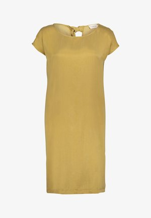 Day dress - antique gold