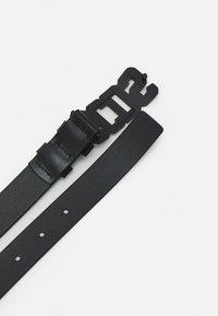 GCDS - LOGO BELT UNISEX - Belt - black - 2