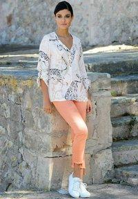 Alba Moda - Blouse - off-white,beige,orange - 4