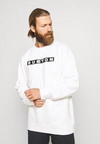Burton - VAULT CREW - Sweater - stout white - 0