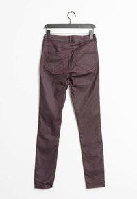 Vila - Slim fit jeans - purple - 1