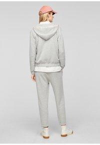 s.Oliver - Zip-up sweatshirt - gray - 2