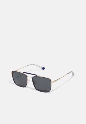 Sunglasses - blue/gold-coloured