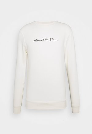 UNISEX JAMIE CREW - Sweater - ecru