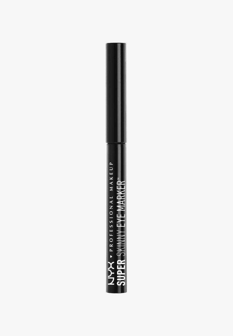Nyx Professional Makeup - SUPER SKINNY EYE MARKER - Eyeliner -  carbon black