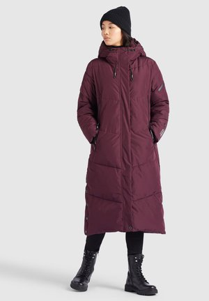 SONJE - Cappotto invernale - weinrot