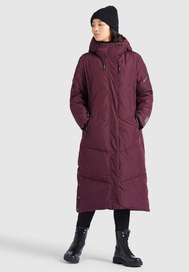 SONJE - Winter coat - weinrot