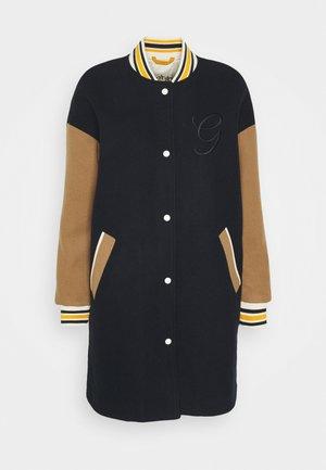 LONG VARSITY COAT - Short coat - marine