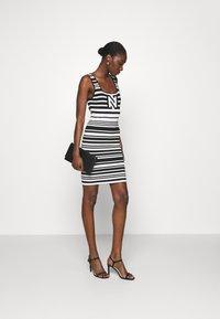 NIKKIE - JEAN DRESS - Jumper dress - white/black - 1