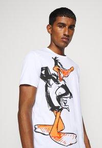 Iceberg - T-shirt con stampa - bianco ottico - 4
