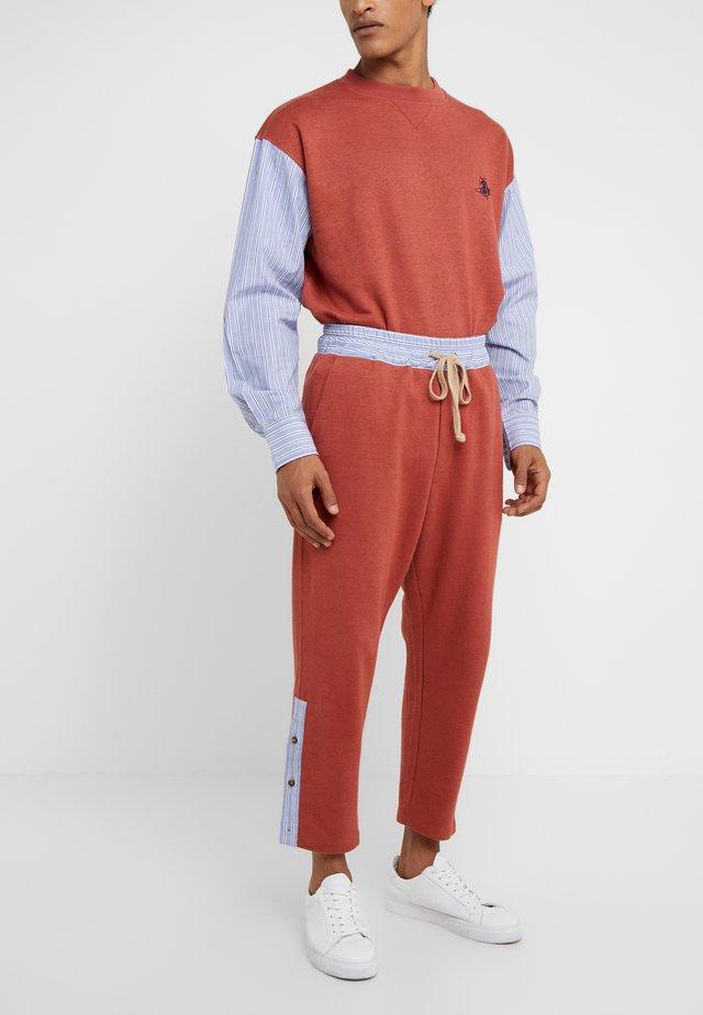 TRACKSUIT PANT - Pantalon de survêtement - brick