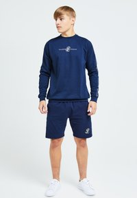 Illusive London Juniors - Shorts - navy & cream - 1
