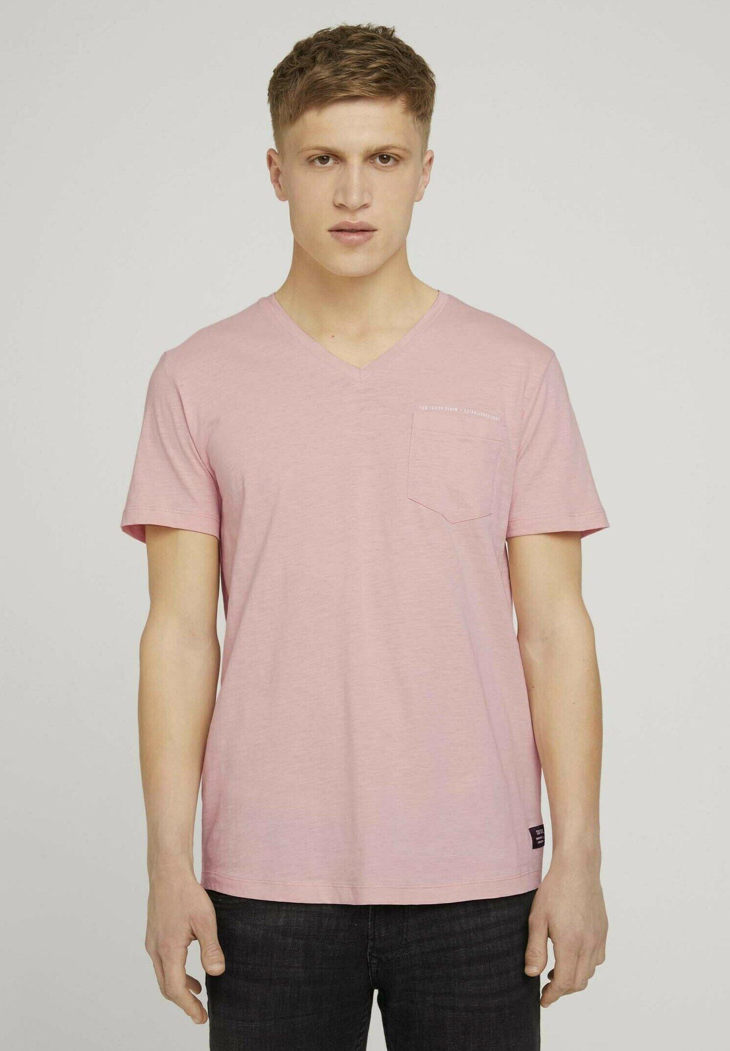 Homme MELIERTES MIT BRUSTTASCHE - T-shirt basique