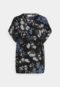 Kaffe - EKUA AMBER BLOUSE - T-shirt print - black/multi color - 0