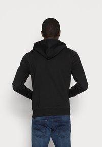 GAP - ARCH - Zip-up sweatshirt - true black - 2