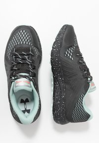 Under Armour - CHARGED BANDIT TRAIL - Trail running shoes - jet gray - 1