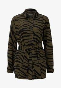mine to five TOM TAILOR - Zebra-Muster - Summer jacket - olive zebra design - 4