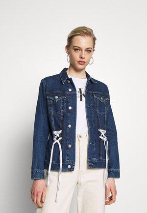 FOUNDATION TRUCKER - Giacca di jeans - dark blue