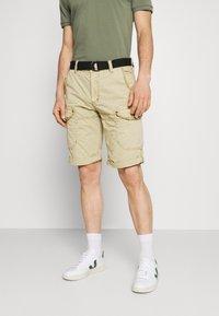 Cars Jeans - RANDOM - Shorts - khaki - 0