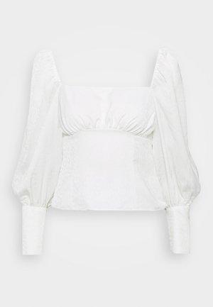 LENA - Blouse - blanc