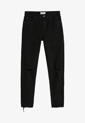 Skinny džíny - black