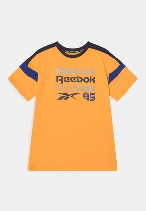 LOGOS PRINTED TEE - T-shirt imprimé - solar gold