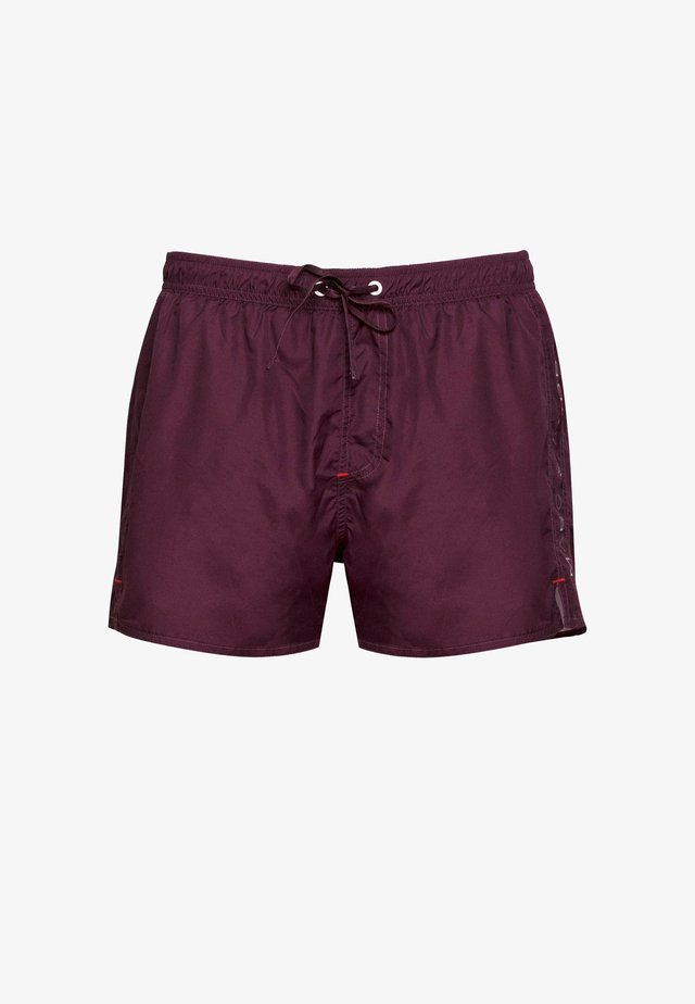 Swimming shorts - dark red