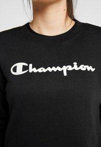 Champion - CREWNECK - Collegepaita - black - 5