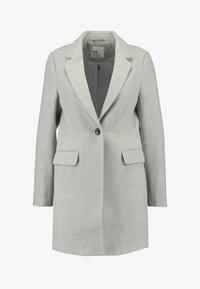 Even&Odd Petite - Classic coat - mottled light grey - 3