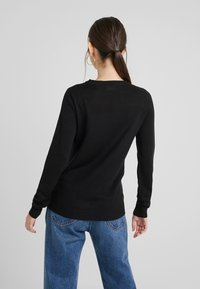 Vila - Jumper - black - 2